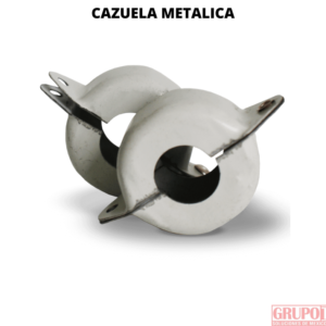 Cazuela Metálica para Mangueras